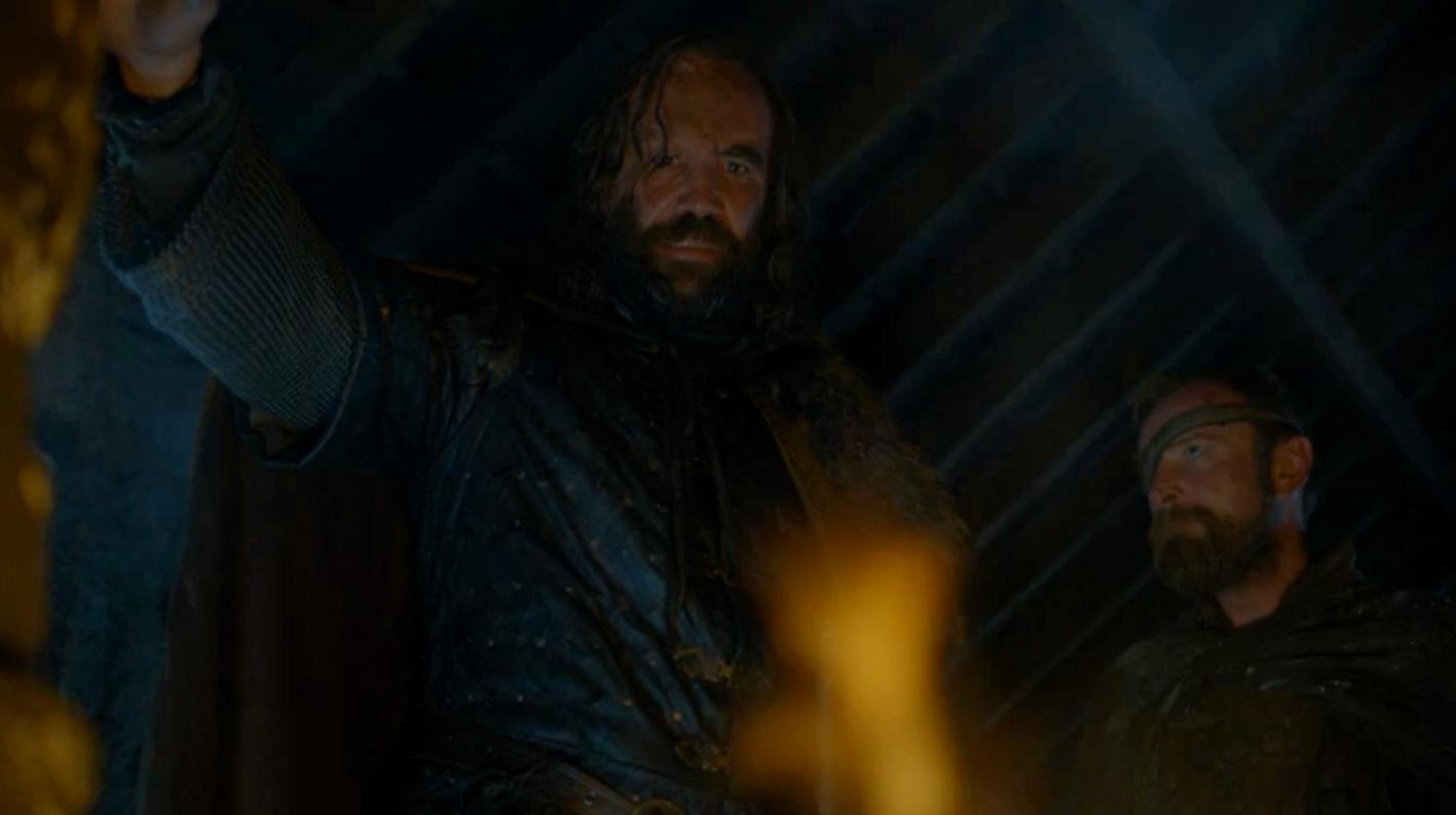 Game of Thrones Recap Season 7 Episode 1 Dragonstone The Hound Flames Beric
