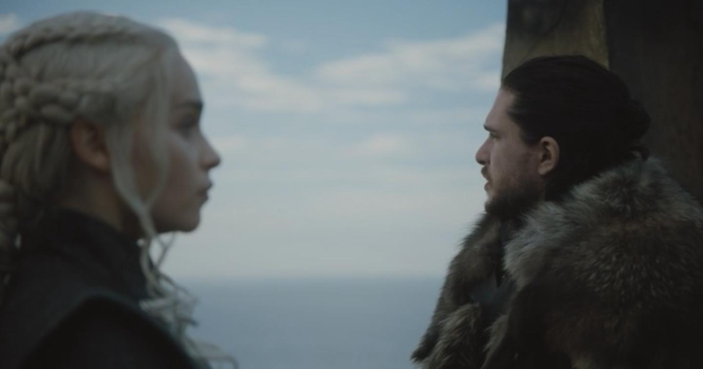 Game of Thrones Recap Season 7 Episode 3 Jon Snow and Daenerys Targaryen