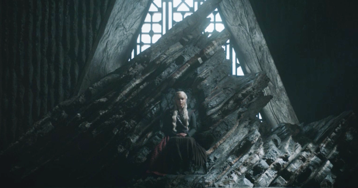 Daenerys Stormborn, of House Targaryen, rightful heir to the Iron Throne, rightful Queen of the Andals and the First Men, Protector of the Seven Kingdoms, the Mother of Dragons, the Khaleesi of the Great Grass Sea, the Unburnt, the Breaker of Chains