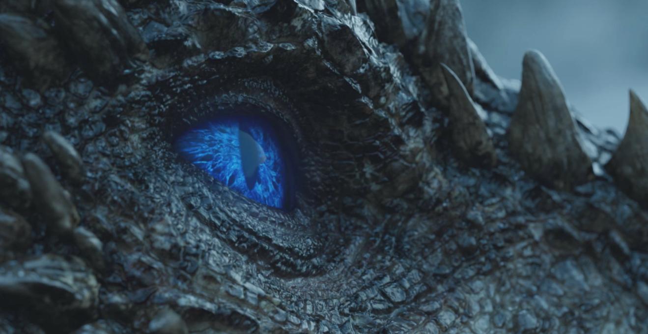 Game of Thrones Recap Season 7 Episode 6 Beyond the Wall Night King Viserion's Eye Blue