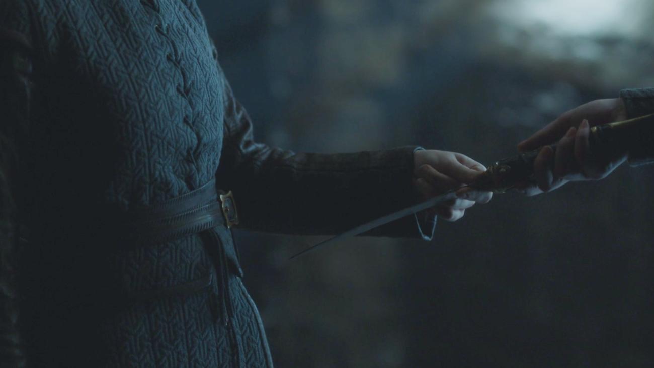 Game of Thrones Recap Season 7 Episode 6 Beyond the Wall Winterfell Arya Sansa Catspaw Blade
