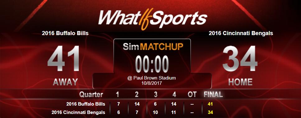 Questionably Qualified Sports Book NFL Picks Week 5 Buffalo Bills Cincinnati Bengals