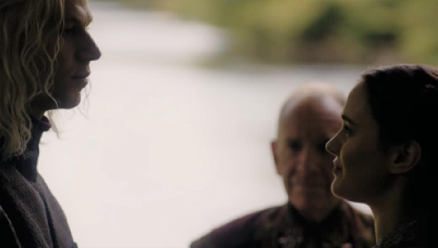 Rhaegar Targaryen and Lyanna Stark getting married in Bran's vision in last season's finale