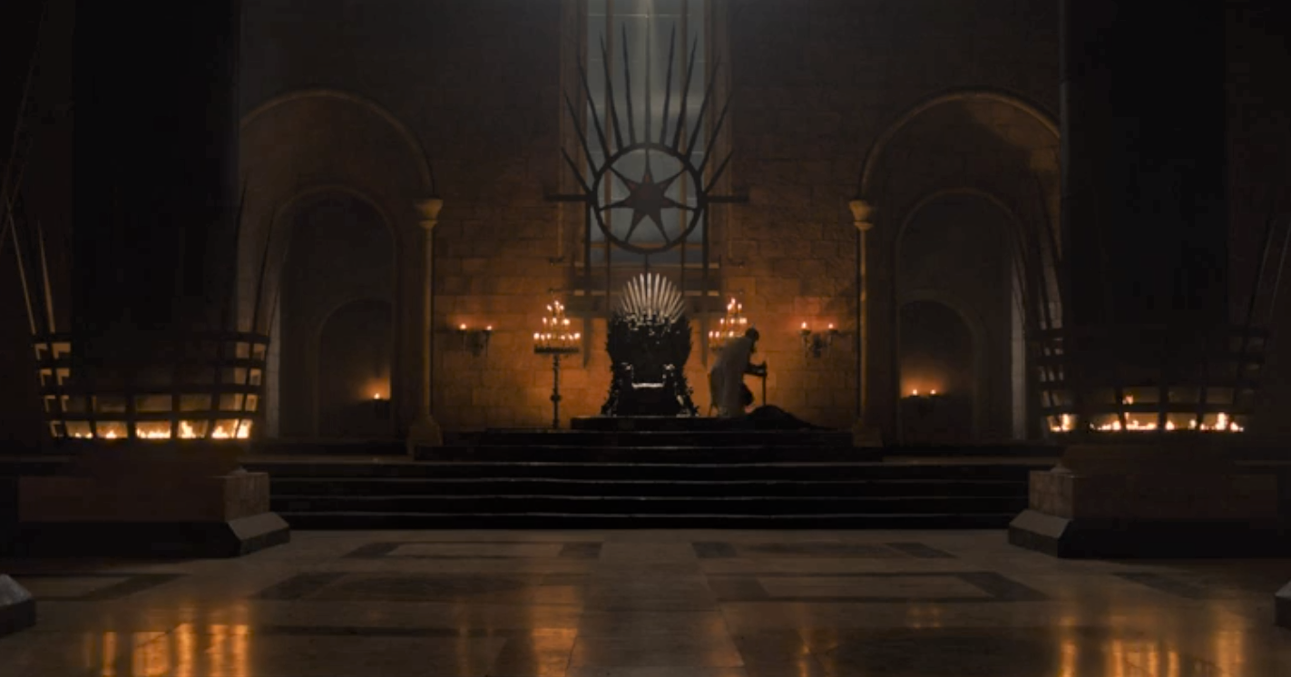 "Jaime earning his ""Kingslayer"" moniker in one of Bran's visions"