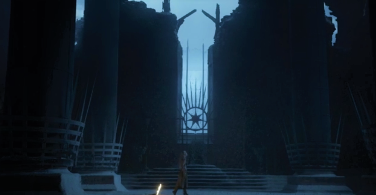 Daenerys in the House of the Undying in Season 2 Episode 10,  Valar Morghulis