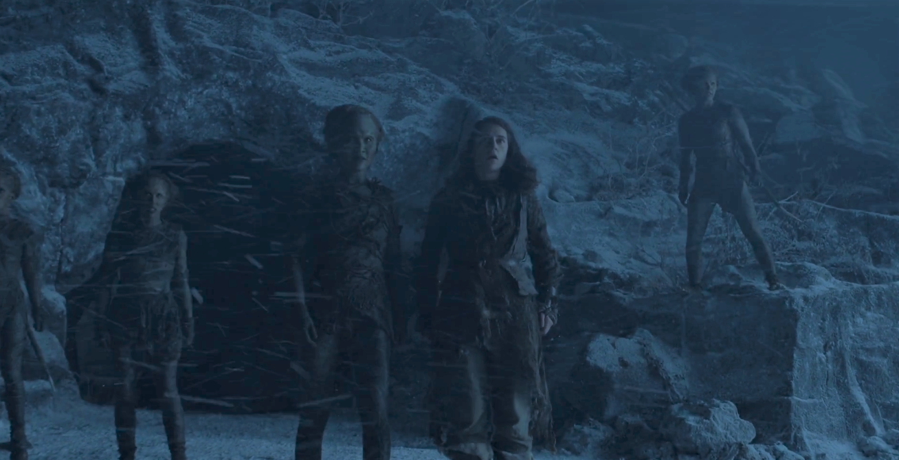 Meera Reed with some Children of the Forest in  The Door.  Do they hold the key to killing the Night King?