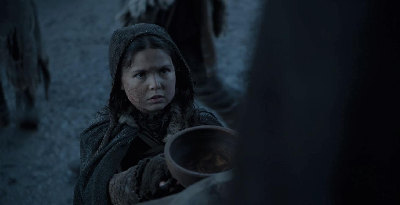 Game of Thrones Season 8 Episode 2 Greyscale Girl.PNG