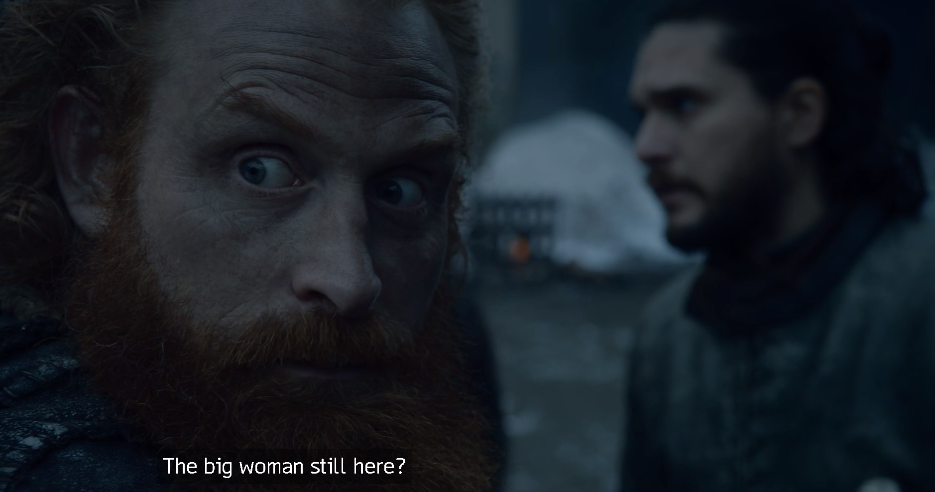 Game of Thrones Season 8 Episode 2 Tormund the Big Woman.PNG