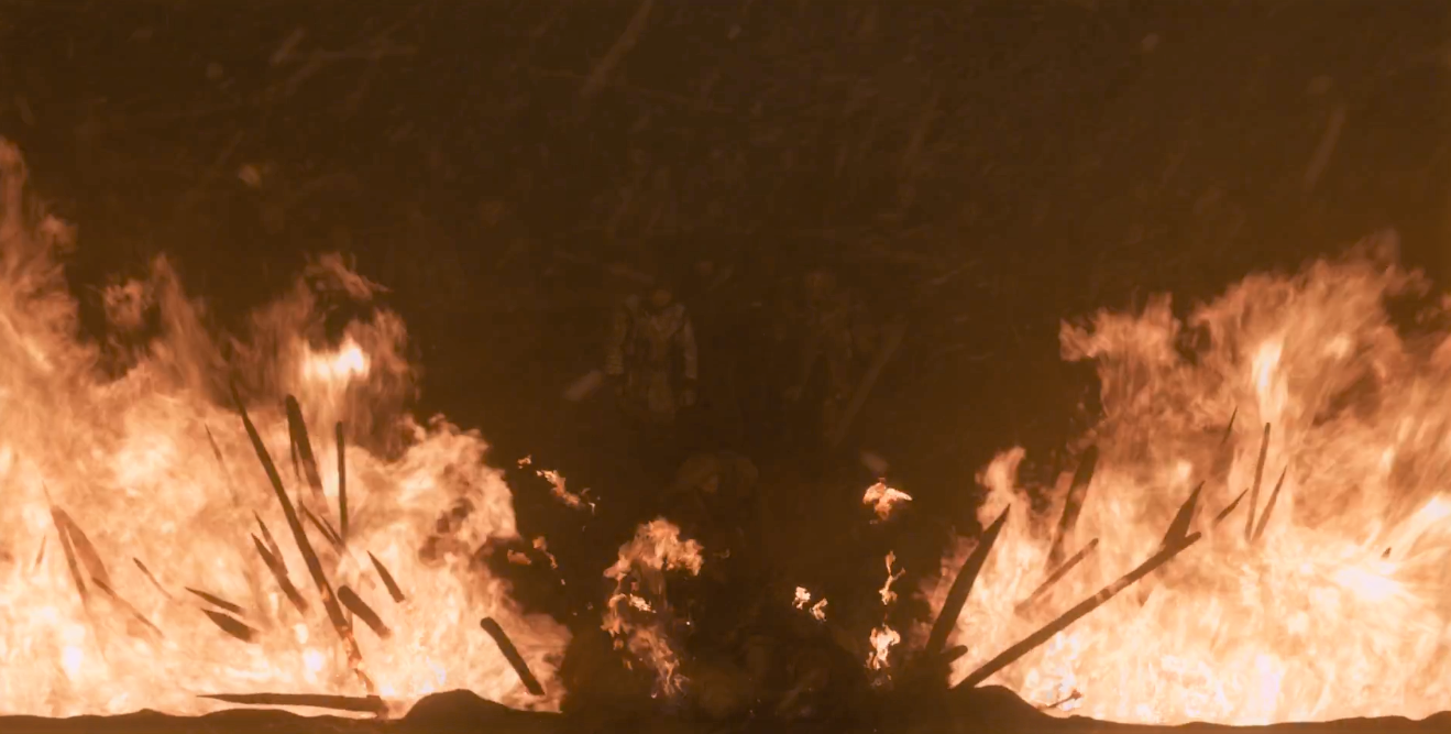 It did take them, like, six whole wights to breach the trench