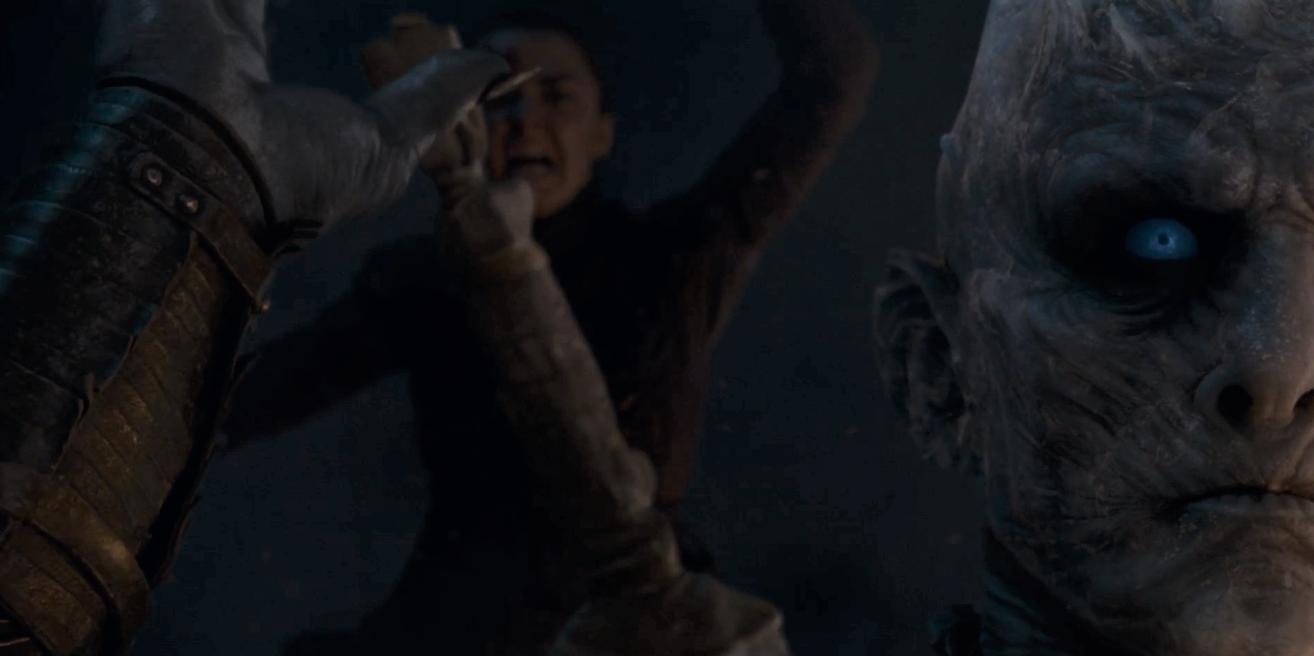Game of Thrones Season 8 Episode 3 Arya Night King 1.PNG