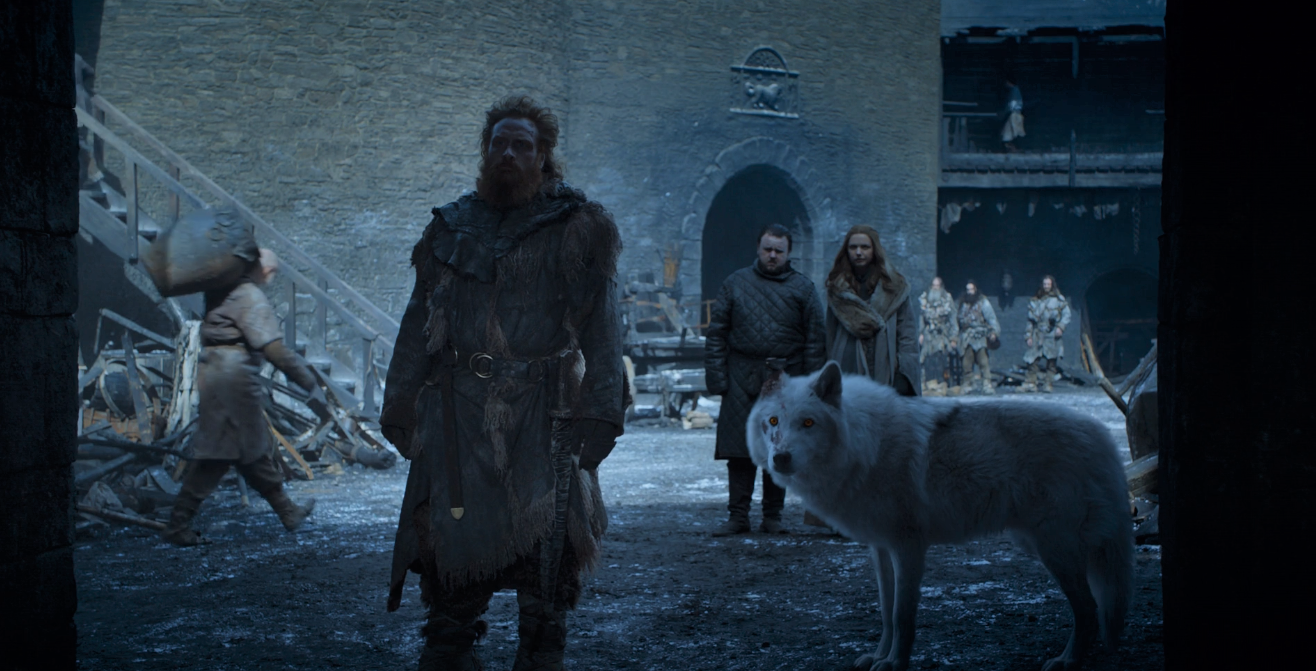 Ghost deserves better treatment anyway. I'm also in on  The Adventures of Tormund and Ghost  if they want to make that spinoff.