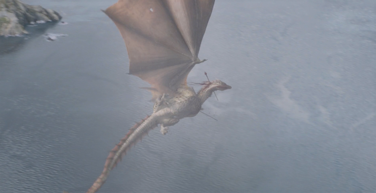 It's alright Rhaegal. We all expected you to be harder to kill too.