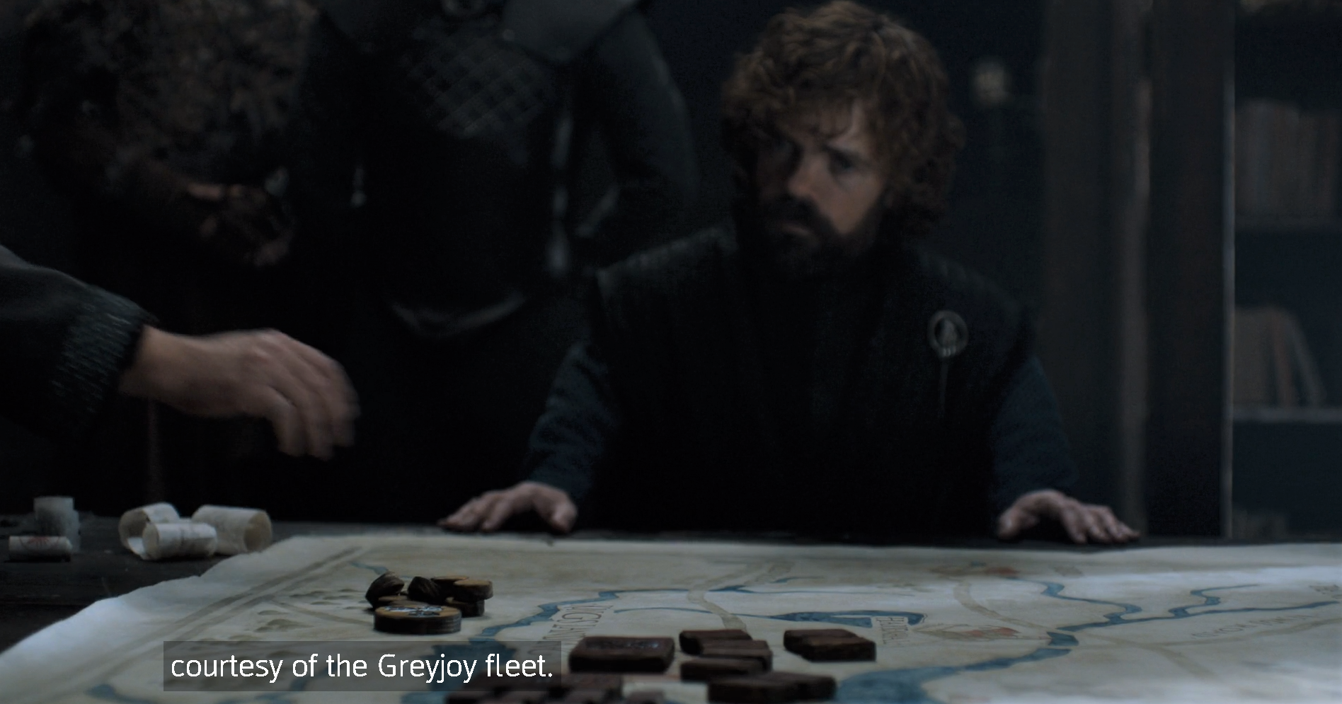 """Oh the Greyjoy fleet! The ones who ambushed us near Dragonstone last time?"""
