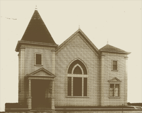 Our first building,downtown San Jose,  dedicated in 1904