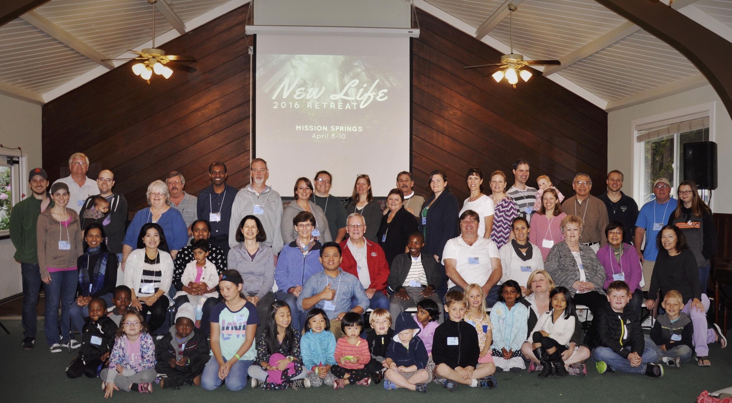 New Life Covenant Church Retreat 2016