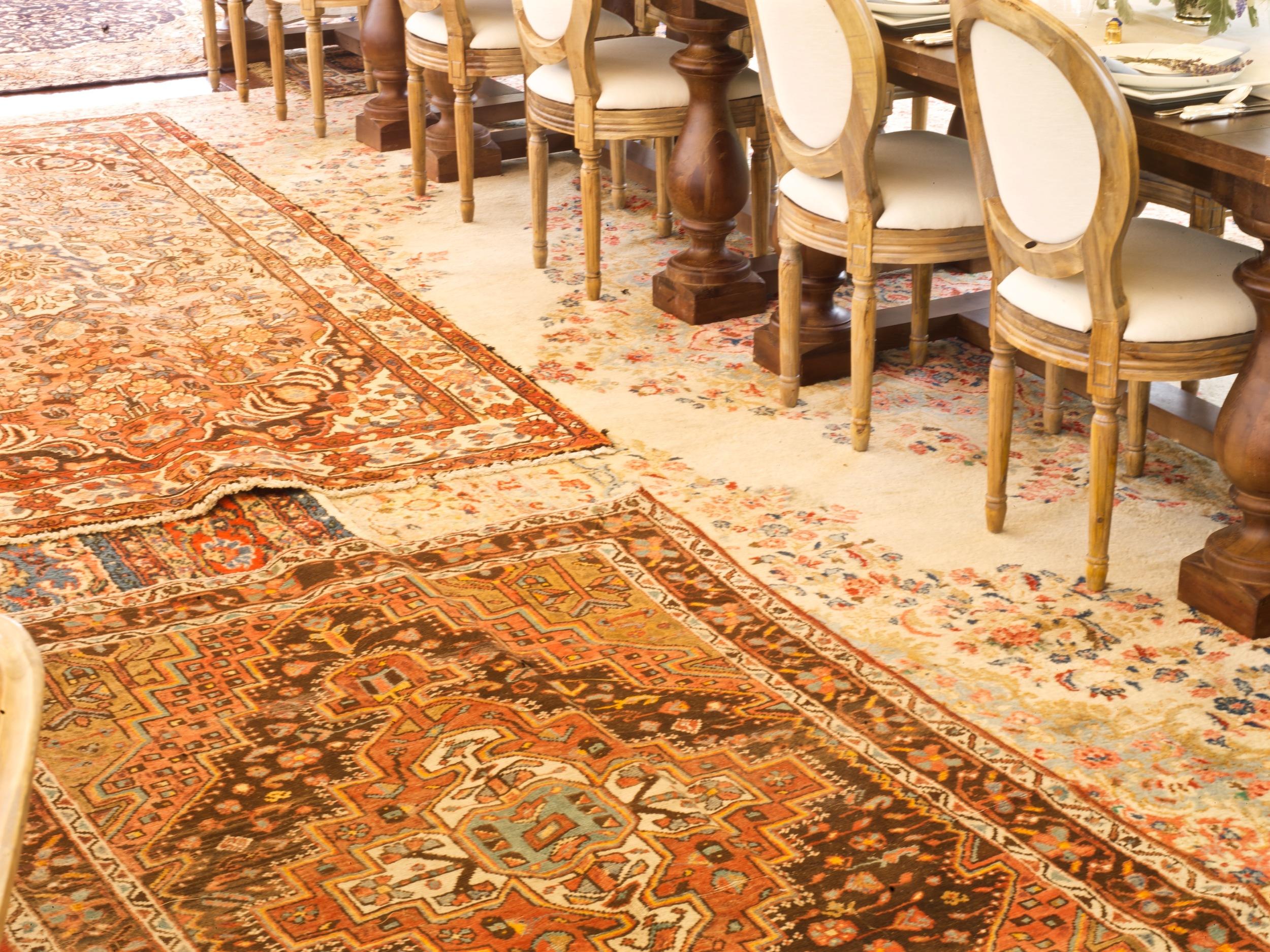 Mashup of oriental carpets.