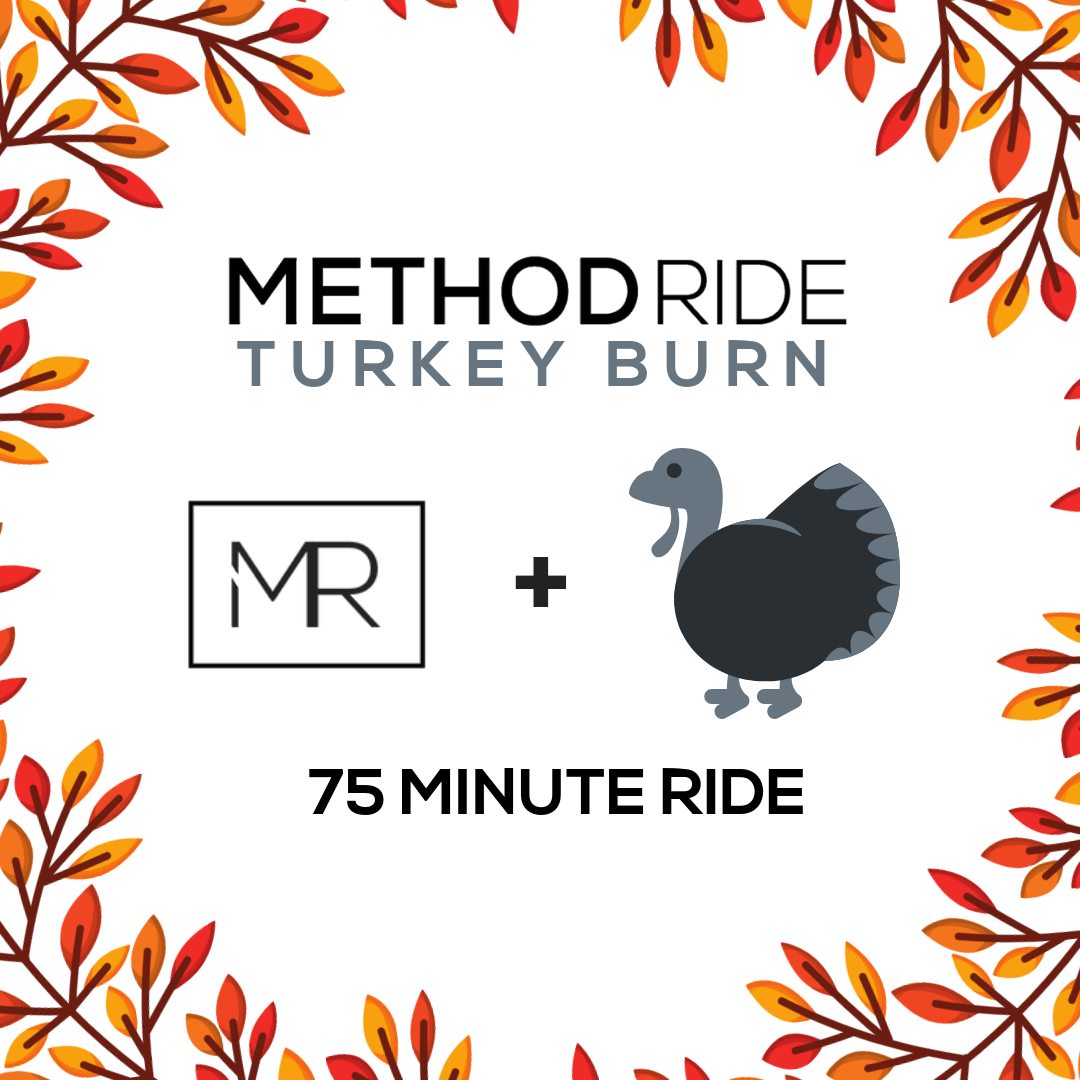 One of the most exciting MethodRide traditions is upon us... Thanksgiving Turkey Burns! These one of a kind rides are best experienced in person. We talked to Mount Pleasant Studio Manager, Rachel Nutt, to find out more about this yearly event.