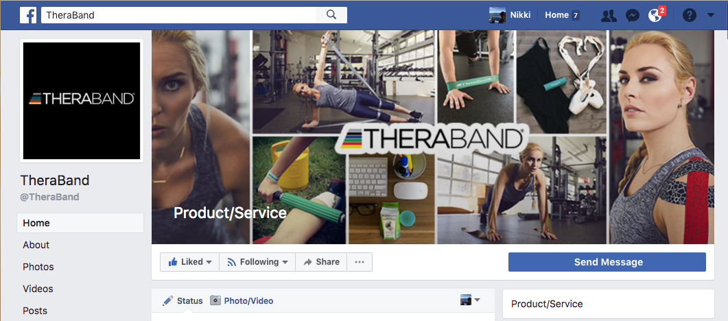 TheraBand - Lindesy: Facebook