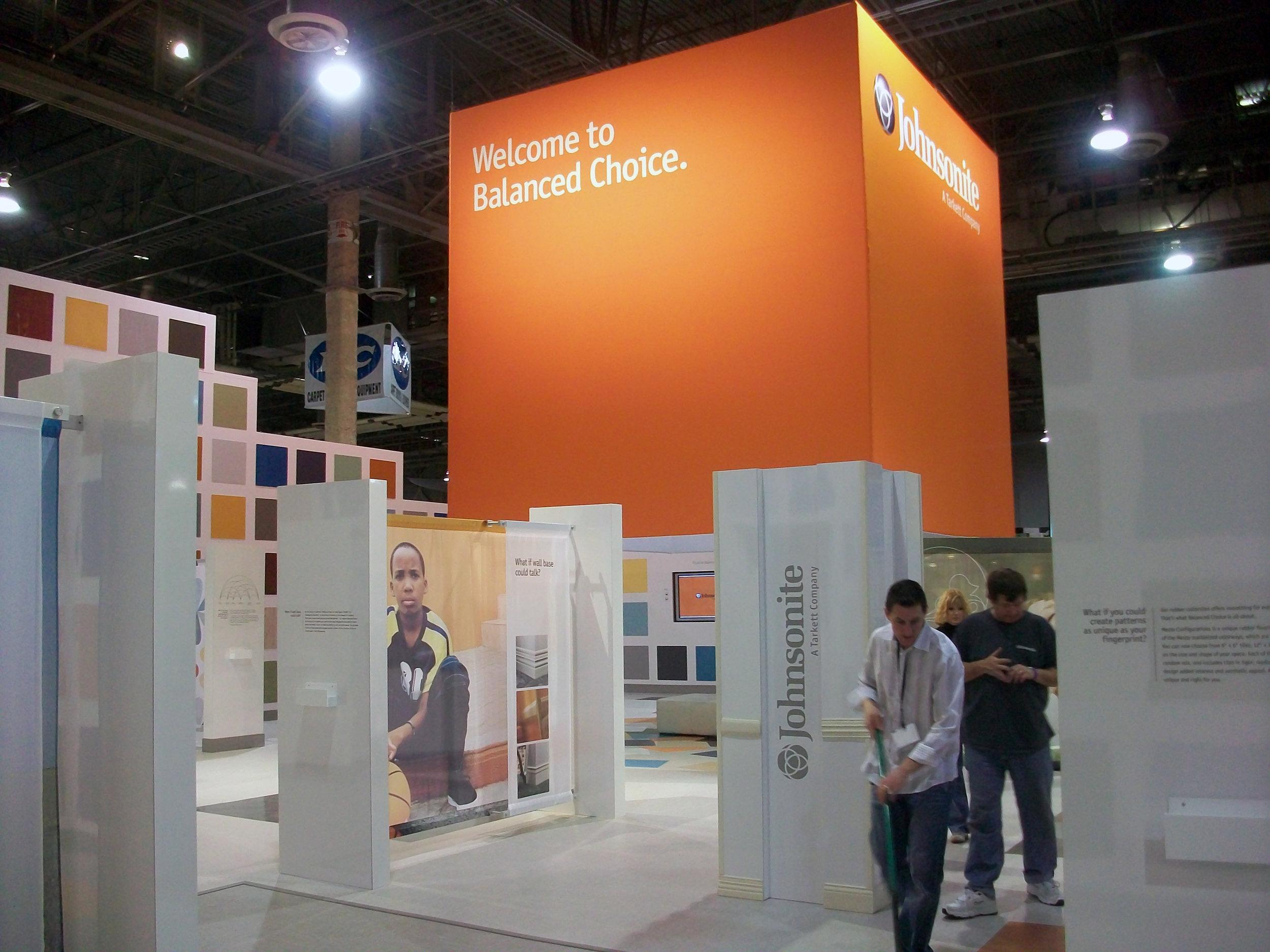Tarkett/Johnsonite - Surfaces: Trade Show Booth