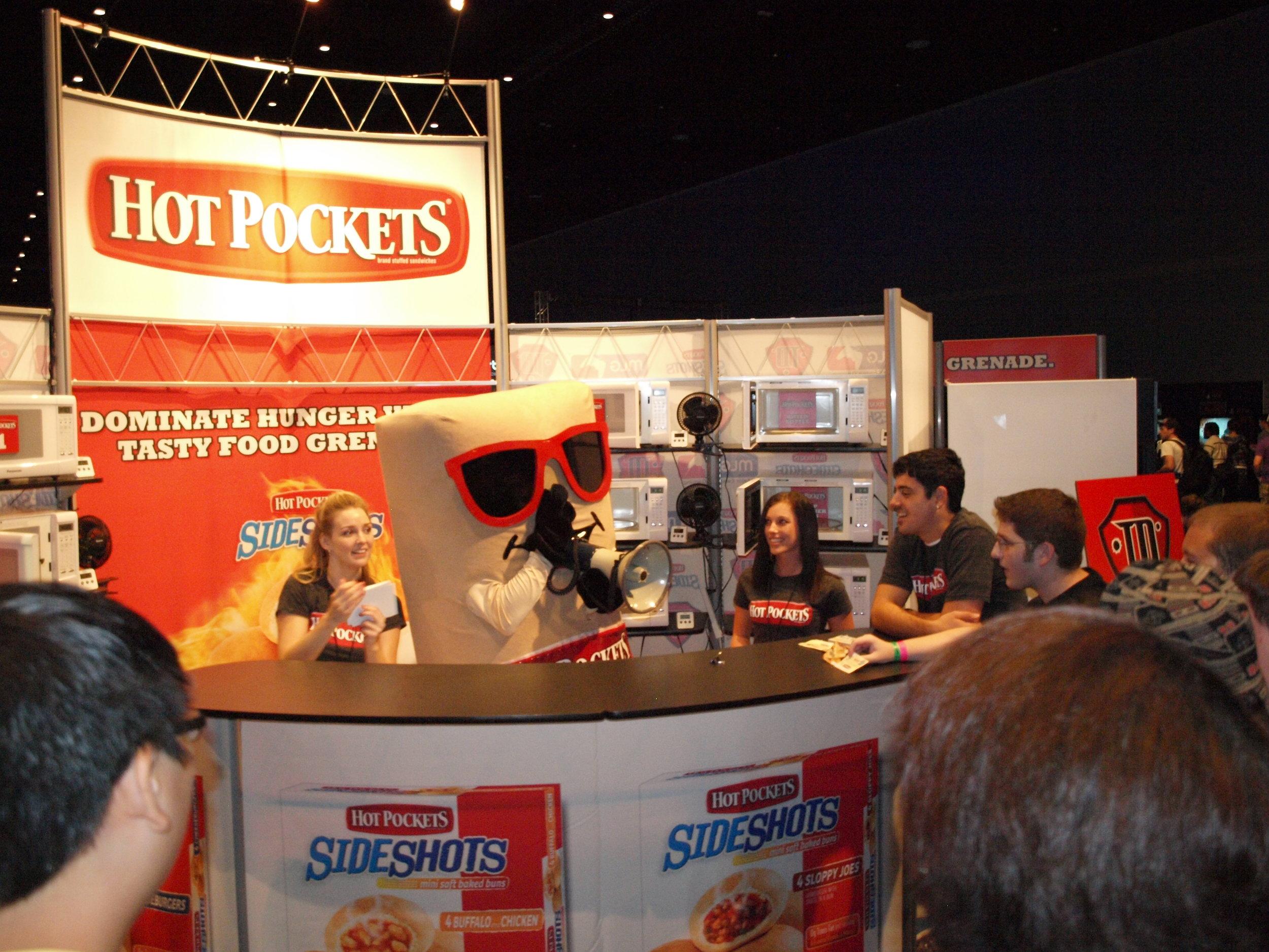 Nestlé/Hot Pockets - MLG Sponsorship: Mascot & Booth