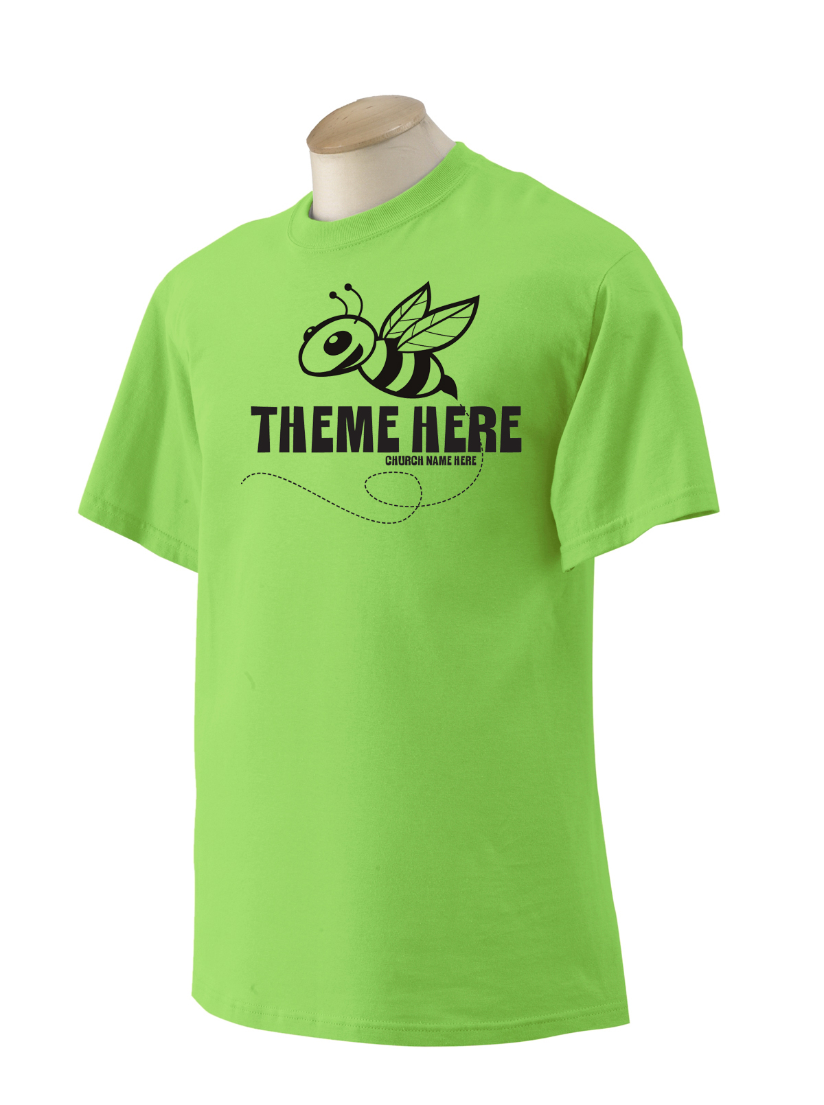 Bee 2 Lime Shirt.jpg