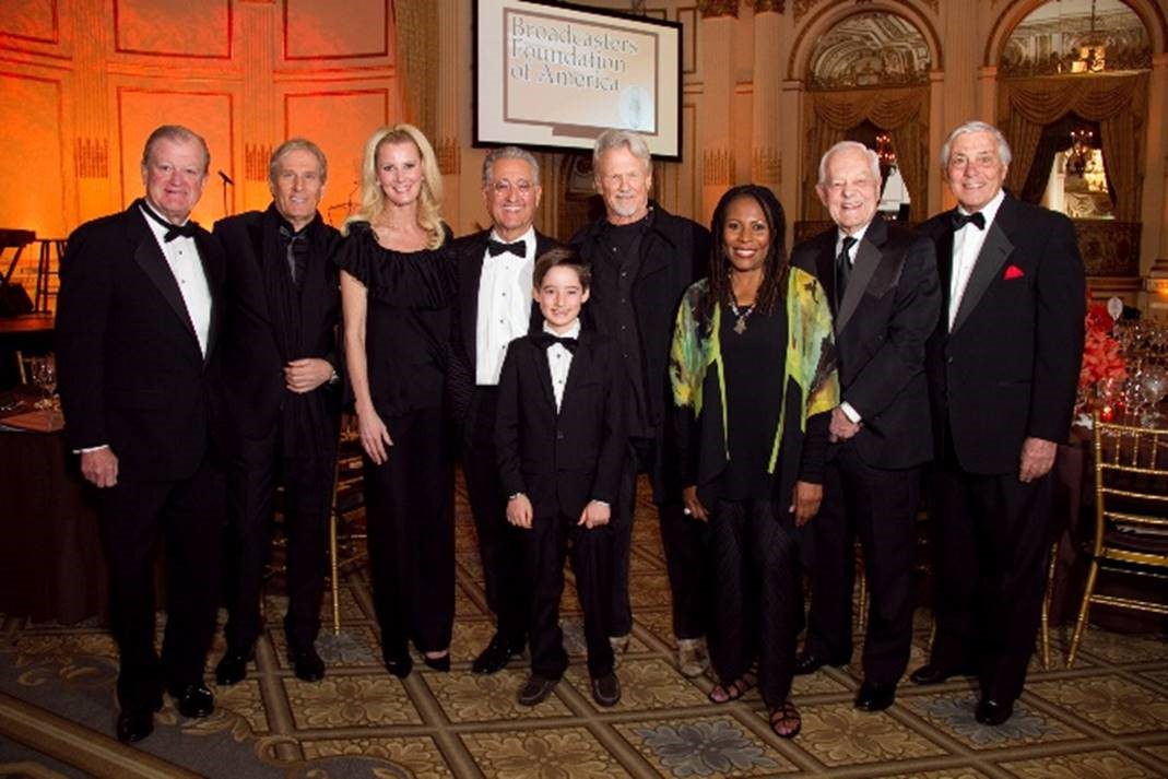 Thaddeus with Michael Bolton, Aunt Sandra Lee, Kris Kristofferson and others.
