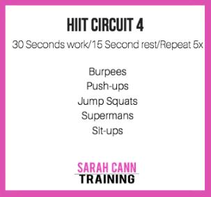 Sarah Cann Training