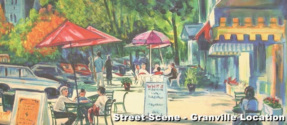 Street Scene - Granville OH Location