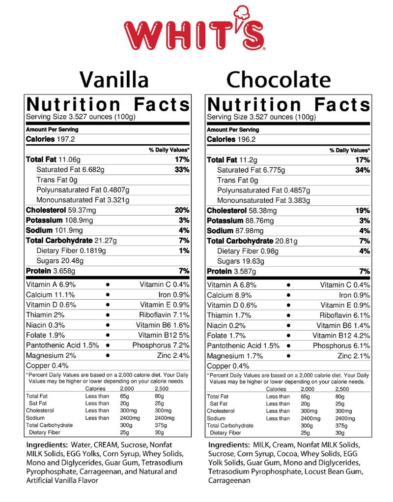 Vanilla and Chocolate Whit's Frozen Custard