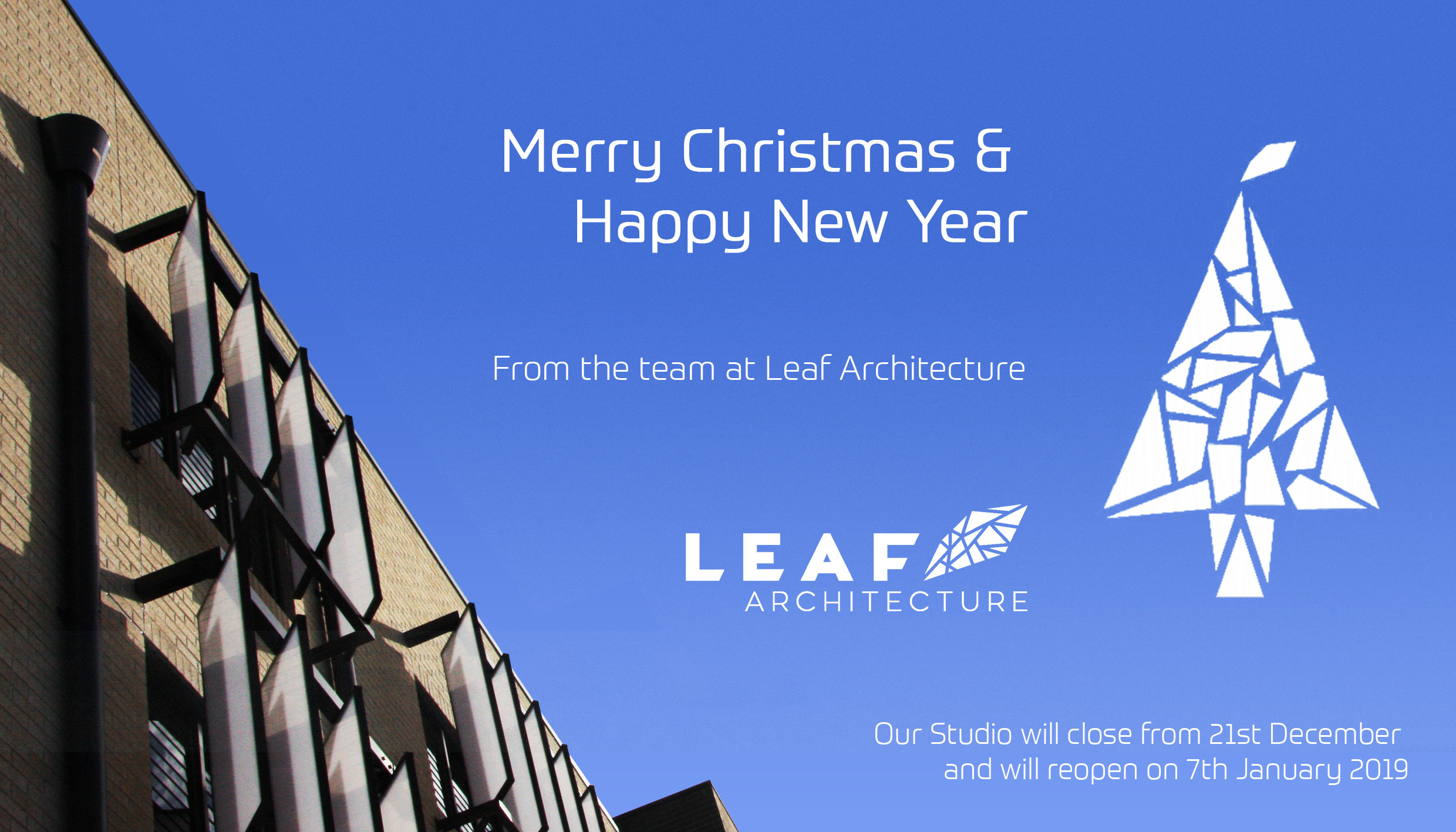 Leaf Architecture wishes you a Merry Christmas