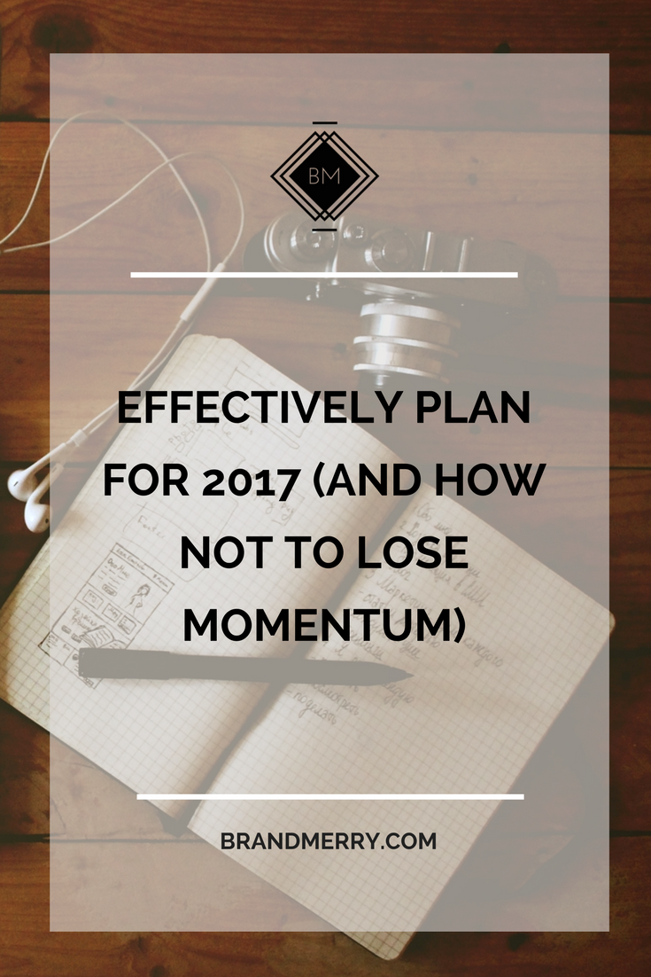 learn how to effectively plan your goals for the year and actually achieve them