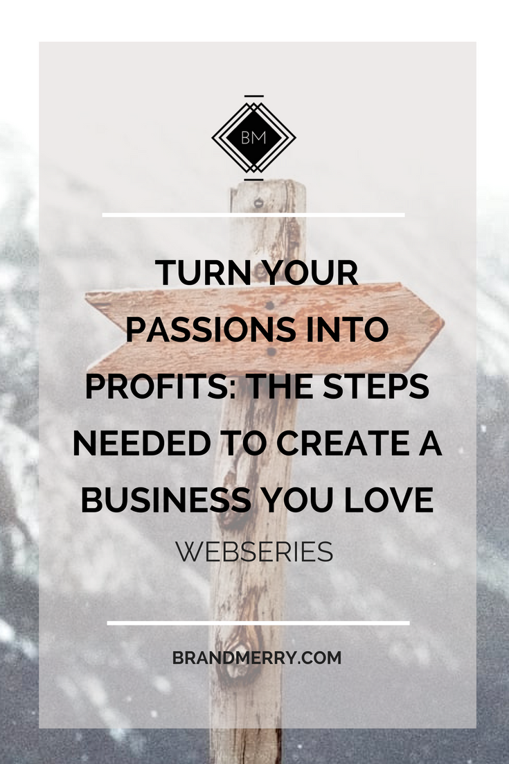 create a business that is in alignment with your passion. Passions to profits is possible.