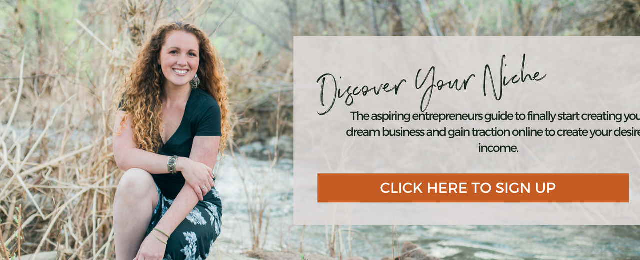 Free Discover Your Niche Workbook and Video
