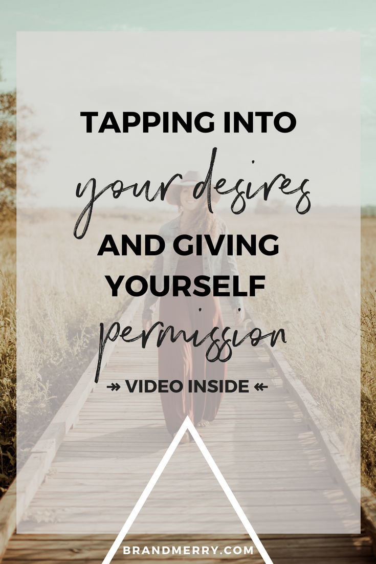 "In a year I watched all my desires come to reality, and then I struggled to admit my new desires out of a fear of appearing selfish. I'm sharing the questions you need to ask yourself to tap into your deepest desires and give yourself permission to experience pleasure over ""just enough""."