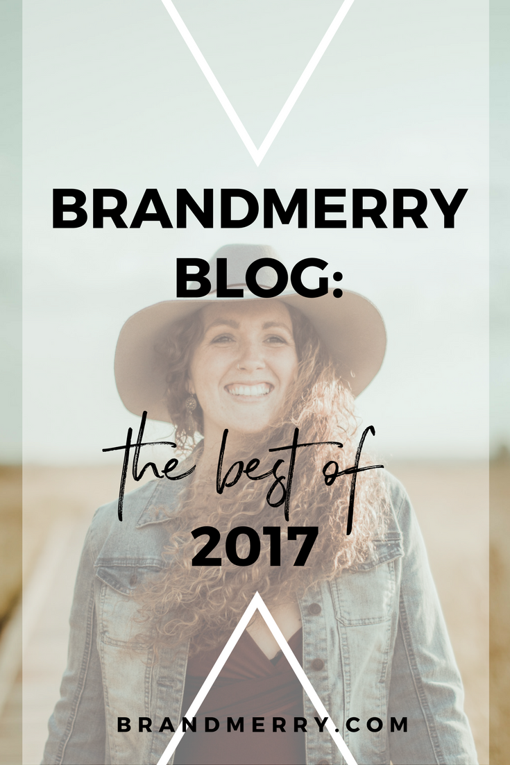 2017 was a year of amazing connections, community and content. I'm sharing the top rated and most visited videos and blogs of 2017 to support you 100% as you head into 2018. Ready to create a thriving 6-figure business, while keeping your sanity in the process? Then head to the blog RIGHT NOW!