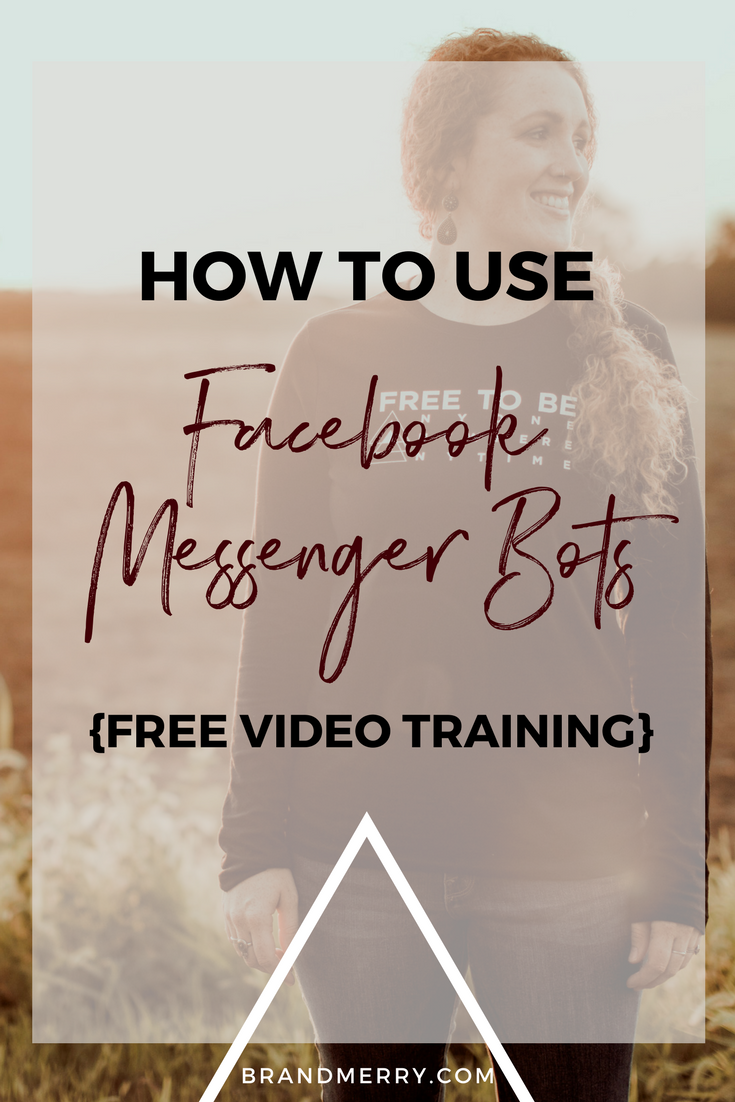 How to use Facebook Messenger Bots for your Brand | Facebook Marketing Tips | Boost Engagement | Business and Branding Coach | Michelle Knight of Brandmerry
