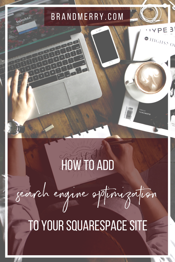 How to Add SEO to Your Squarespace Website | Squarespace tutorials, SEO for beginners