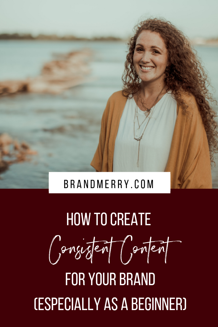 How to Create Consistent Content for Your Brand (Especially as a Beginner)