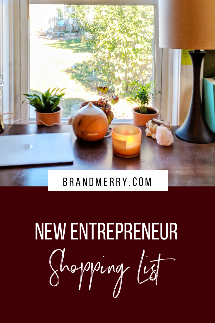 New Entrepreneur Shopping List - Starting your business can be overwhelming, especially when you see all the options available to you in regards to systems and products. I've made it super easy in this post to give you my top recommendations for new entrepreneurs so you don't have to waste time searching the internet. Plus, you'll get some freebies from these amazing providers as well!