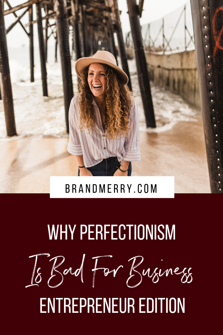 Why perfectionism is bad for business