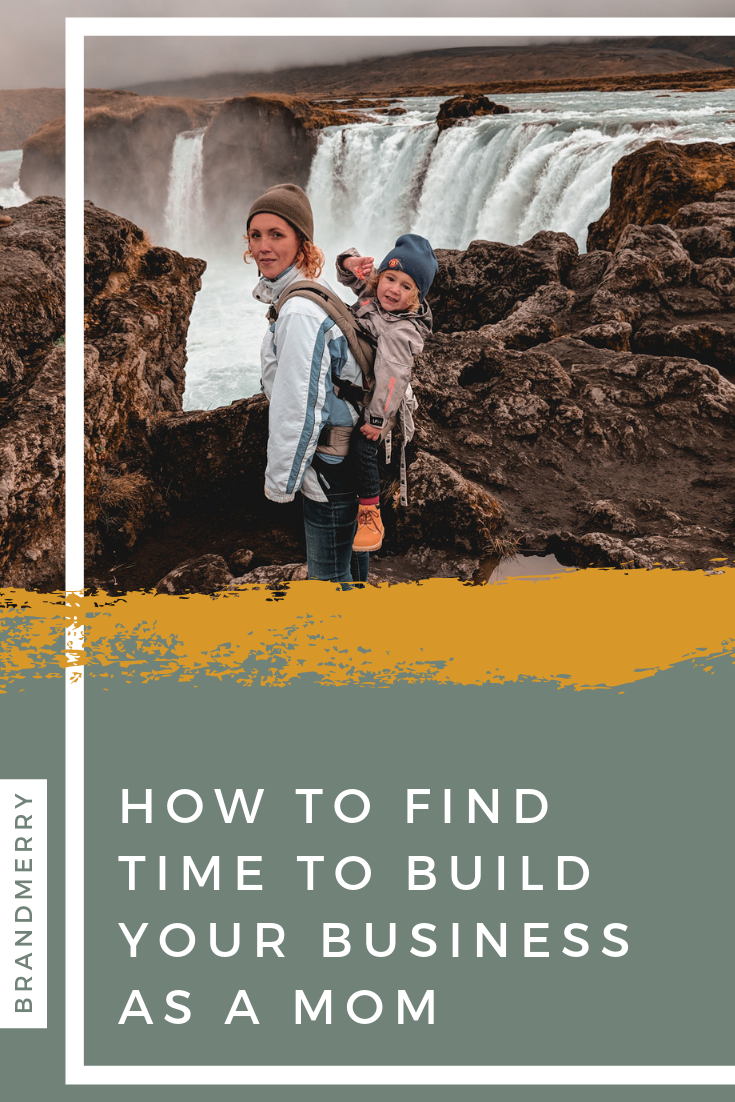 When you are trying to build a business as a mom it never feels like you have enough time, but the truth is we all have the same 24 hours in a day it's just about how you use them. Learn my top 4 tricks on the blog.