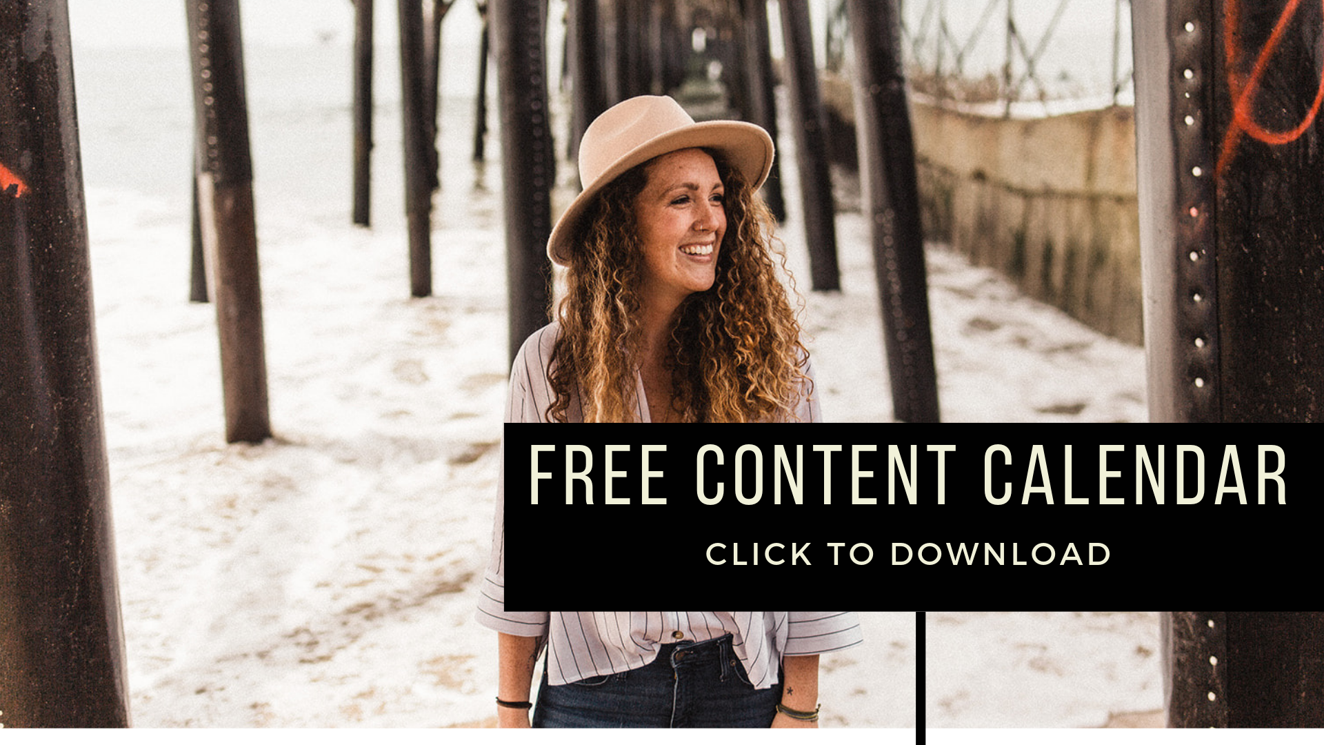 Download this free content creation planner and map out a month of content in as little as 30-minutes plus learn my #1 strategy to come up with content ideas with ease.