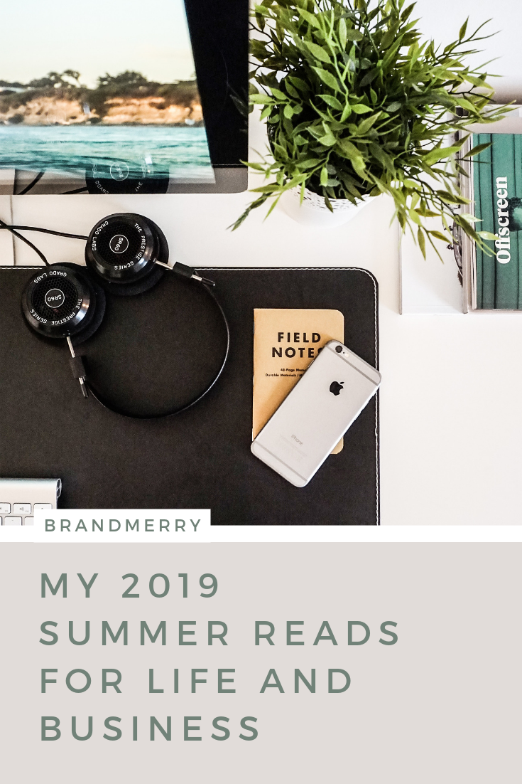 As an entrepreneur, it's so important that we focus on our personal development and nothing is easier to consume than a book (or audio) in my opinion. In today's blog, I'm sharing my must-reads for Summer 2019 and why I'm so excited to implement the tools and inspiration into my life and business.