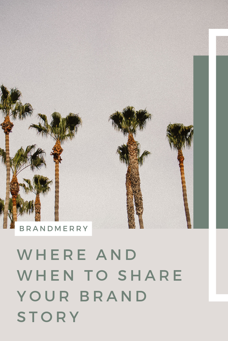 "How often should you share your Brand Story? This is one of the top questions I receive as a Branding Mentor, followed by, ""but won't my audience get annoyed?"" In today's blog, I'm excited to bust this myth + provide you with a bonus audio recording where I'm addressing the underlying issue and fear of annoying your audience."