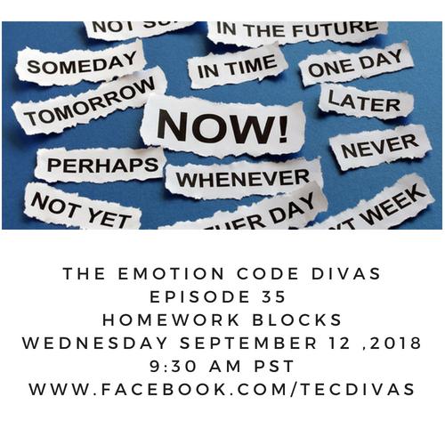 Emotion Code Blocks