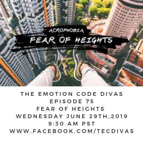 Emotion Code for Fear of Heights