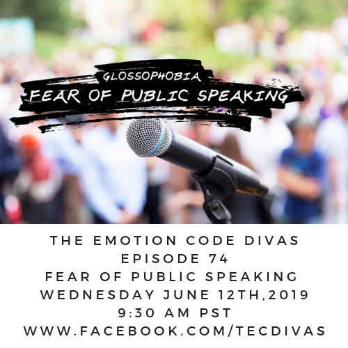 Emotion Code for fear of public speaking