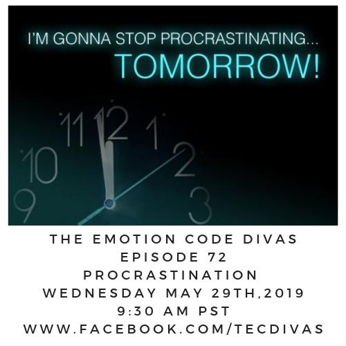 Emotion Code for Procrastination