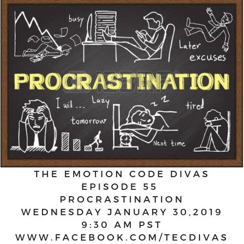 Emotion Code Procrastination