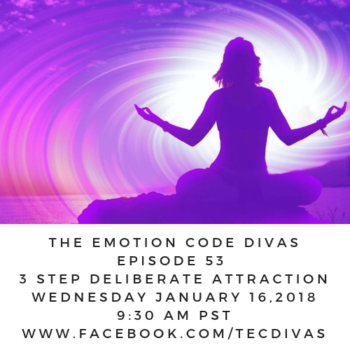 Emotion Code the 3 steps of deliberate attraction
